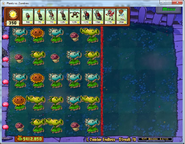 I,Zombie Layout Peashooters
