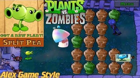 Plants vs. Zombies Adventure Got a Split Pea level 4-5 Fog (Android Gameplay HD) Ep
