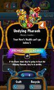 Undying Pharaoh statistics