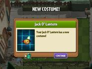 Getting Jack O Lantern's Second Costume