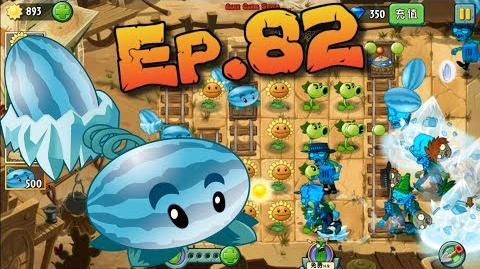 Plants vs. Zombies 2 (China) Winter Melon, Potato Mine, Repeater - Wild West Day 22 (Ep