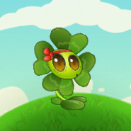 Four-leaf Blover Puffing