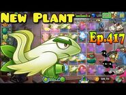 Plants vs. Zombies 2 (China) - New Plant Egret Flower Fighter Plane (Ep