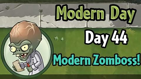 Plants vs Zombies 2 - Modern Day - Day 44- Modern Day Zomboss!