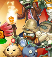 Explorer Zombie PvZO Loading Screen