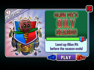 Olive Pit's Oily Season Ending