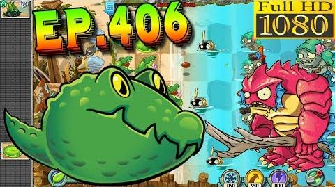 Plants vs. Zombies 2 Special Delivery level with Guacodile - Big Wave Beach Day 18 (Ep