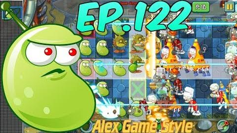 Plants vs. Zombies 2 (China) - Laser Bean and Snapdragon - Far Future Day 8 (Ep