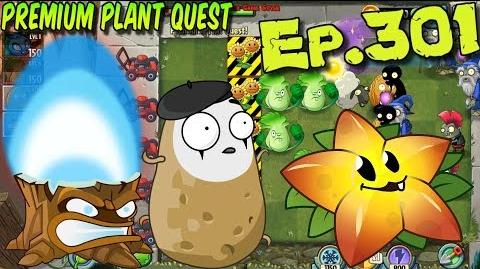Plants vs. Zombies 2 - Torchwood, Imitater, Starfruit - Premium Plant Quest (Ep