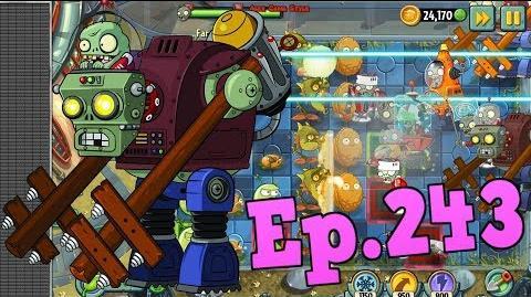 Plants vs. Zombies 2 New Gargantuar Prime - Far Future Day 8 (Ep
