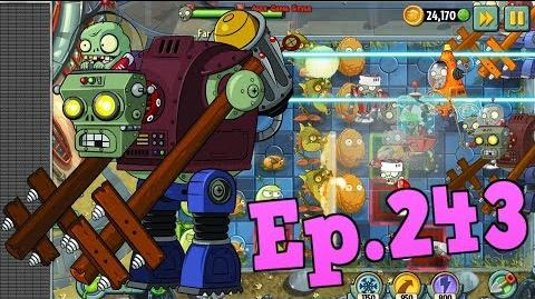 Plants vs. Zombies 2 New Gargantuar Prime - Far Future Day 8 (Ep