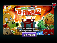 PvZ2 Birthdayz 2021 Present