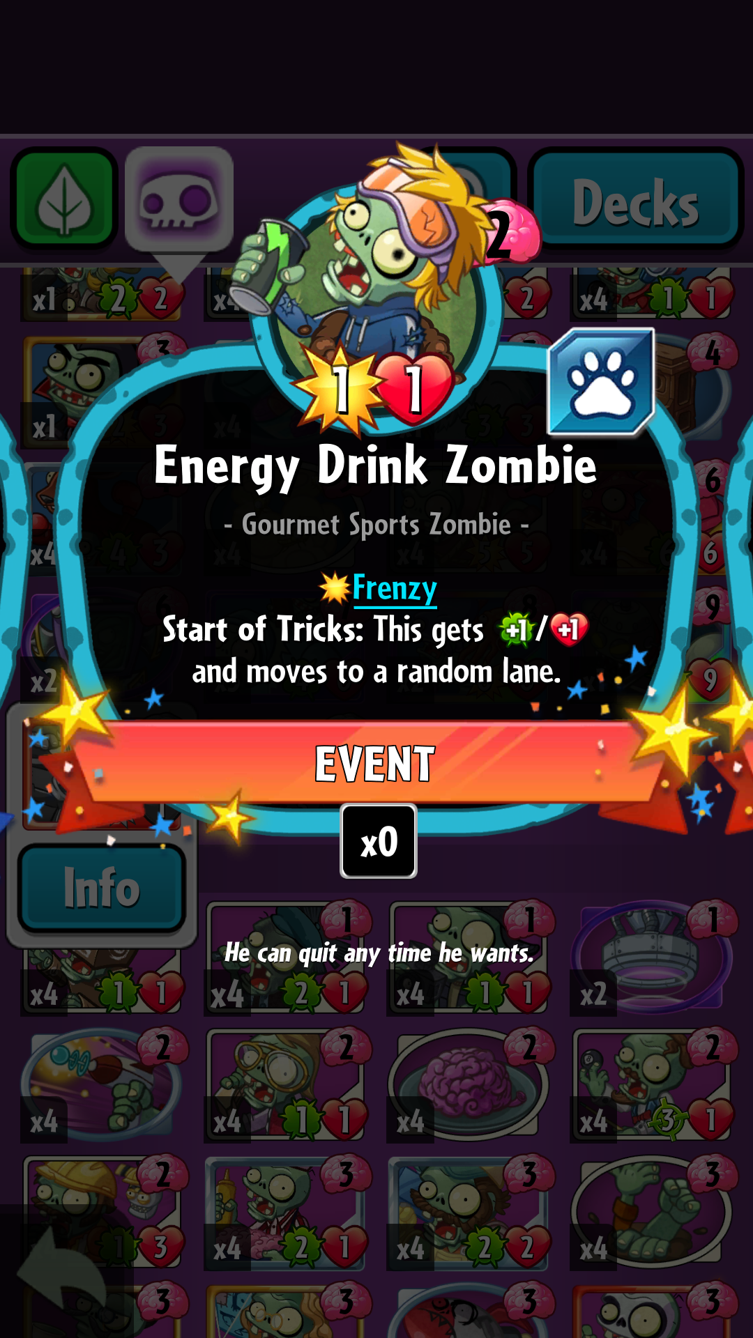 Energy Drink Zombie/Gallery
