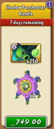 Shadow Peashooter Bundle New