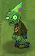 Fainted Birthdayz Zombie
