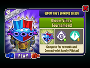 Gloom Vine's Glorious Season - Gloom Vine's Tournament