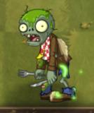 Glowing Food Fight Zombie