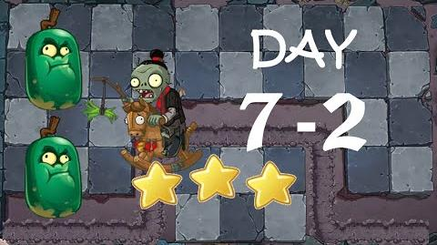 PC Plants vs. Zombies Online - Qin Shi Huang Mausoleum Day 7-2 (Collecting Of The Sun)
