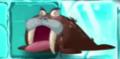 Walrus zombie mouth