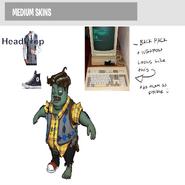 Engineer HeadProp Nerd M Color
