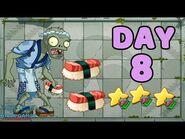 Plants vs Zombies 2 China - Heian Age Day 8《植物大战僵尸2》- 平安时代 8天