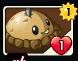 Potato Mine Heroes card