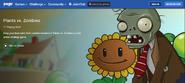 PvZ Web Pogo Page