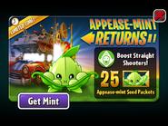 Appease-mint Returns