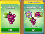 Grapeshot and Bundle In Store New