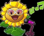 Birthsunflower Singing
