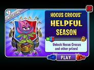 Hocus Crocus' Helpful Season