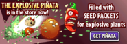 The Explosive Piñata Main Menu