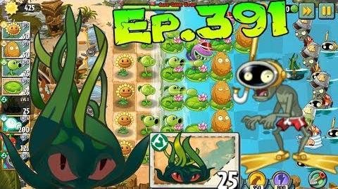 Plants vs. Zombies 2 New Snorkel Zombie Tangle Kelp - Big Wave Beach Day 6 (Ep