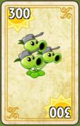 Threepeater Costume Card