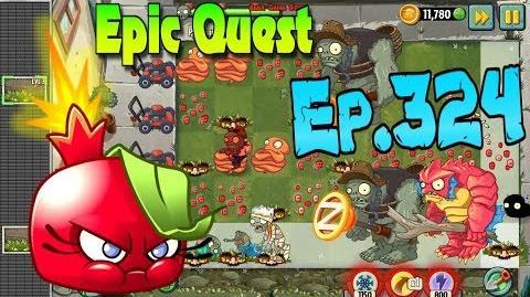 Plants vs. Zombies 2 BOMBEGRANATE - Epic Quest Premium Seeds (Ep