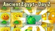 Ancient Egypt Day 2 - Plants vs Zombies 2 Its About Time