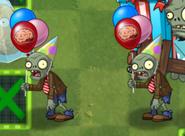 2 Birthdayz Flag Zombies