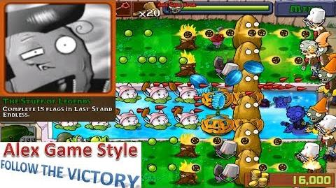 Plants vs. Zombies - Achievement - The Stuff of Legends Last Stand Endless (Android HD) Ep