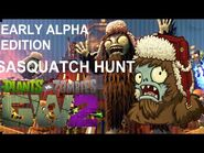 Sasquatch Alpha Boss Hunt Gameplay - Garden Warfare 2 Day 1 Edition