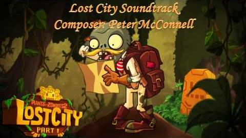 Plants Vs Zombies 2 Music - Lost City Demonstration Mini-Game ☿ HD ☿