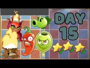 Plants vs Zombies 2 China - Renaissance Age Day & Night 15 -Special Delivery- 《植物大战僵尸2》- 复兴时代 15天