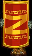 Zombie roman shield