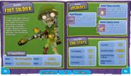 Foot Soldier Stickerbook entry