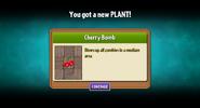Getting Cherry Bomb