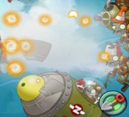 Rocket Zombie Destroyed