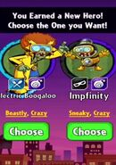 Choice between Electric Boogaloo and Impfinity