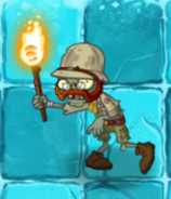 Explorer Zombie in Frostbite Caves