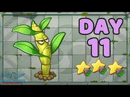 Plants vs Zombies 2 China - Heian Age Day 11《植物大战僵尸2》- 平安时代 11天