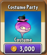 Costume Party Tile Turnip