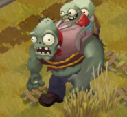 Plants vs zombies adventures GARGANTUAR!!!!!